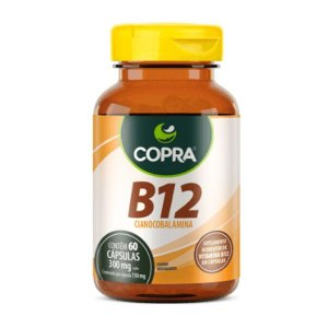 Vitamina B12 Copra 60 Cápsulas