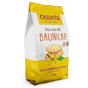Biscoito de Baunilha Sem Glúten Celivita 100g
