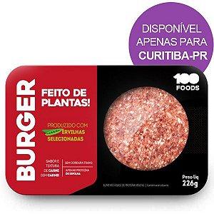 Burger Vegetal 100Foods 226g