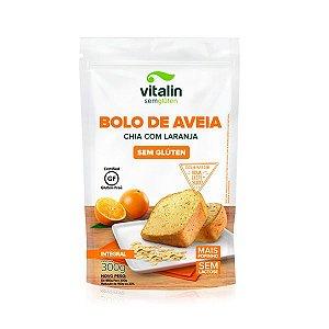 Bolo de Aveia com Laranja e Chia Sem Glúten VALIDADE 08/02