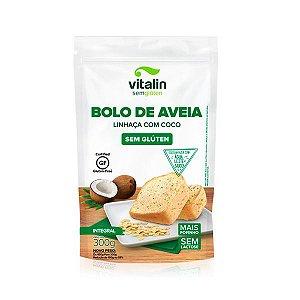 Bolo de Aveia Linhaça e Coco Sem Glúten 450g