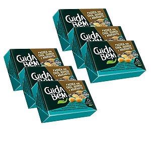 Paçoca com Chia, Quinoa e Amaranto Cuida Bem - 6 unidades