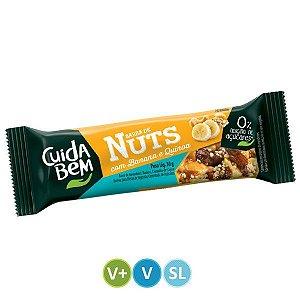 Barra de Nuts Banana e Quinoa Cuida Bem