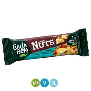 Barra de Nuts Tradicional Cuida Bem