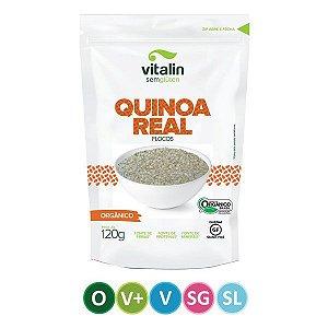 Quinoa Real em Flocos Orgânico 120g