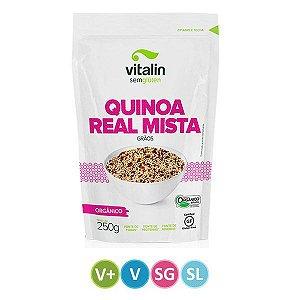 Quinoa Real Mista em Grãos Orgânica - Vitalin