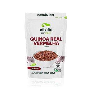 Quinoa Real Vermelha em Grãos Orgânica