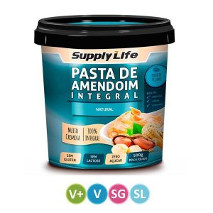 Pasta de Amendoim Integral Natural 500g