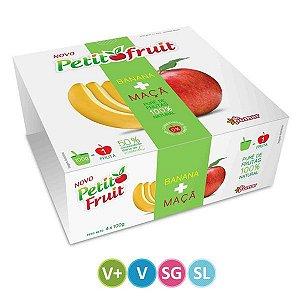 Petit Fruit Banana + Maçã 100% Natural