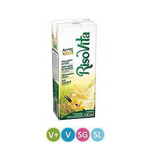 Leite Vegetal de Arroz + Baunilha Sem Lactose 200ml