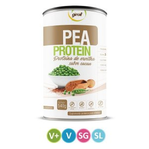 Suplemento Pea Protein sabor Cacau Giroil