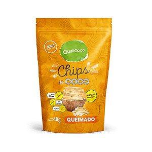 Chips de Coco Queimado Qualicoco