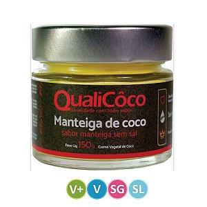 Manteiga de Coco sem Sal Qualicoco