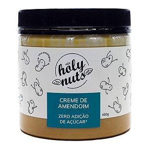 Creme de Amendoim Zero Açúcar Holy Nuts 450g