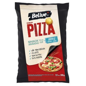 Snack de Arroz sabor Pizza Sem Glúten