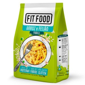 Massa Fusilli de Arroz e Feijão Fit Food 200g