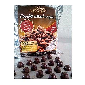 Chocolate Sem Lactose para Uso Culinário - Gotas 500g