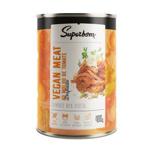 Carne Vegetal Desfiada ao Molho de Tomate Vegan Meat