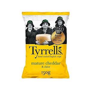 Batata Chips com Cheddar e Cebolinha Tyrrells