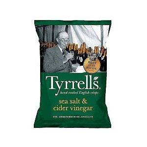 Batata Chips com Sal e Vinagre de Maçã Tyrrells
