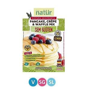 Mistura para Waffle, Crepe e Panqueca Natur 250g