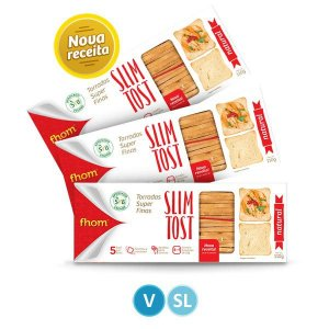 Torrada Natural Slim Tost 110g
