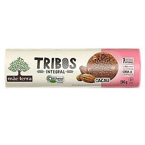 Biscoito Orgânico sabor Cacau Tribos 130g