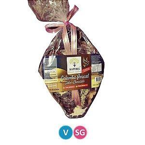 Colomba Pascal com Gotas de Chocolate Nutfree 500g