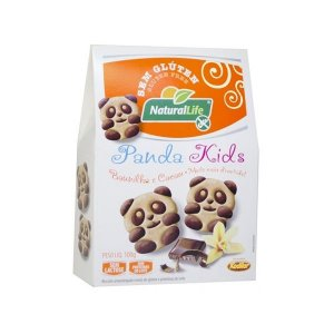 Cookies Baunilha e Cacau Panda Kids Sem Glúten