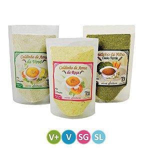 Kit de Caldinhos Veganos Tui