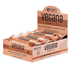 Barra de Proteína Vegana Café e Cacau Coconut Hart's - Caixa com 12