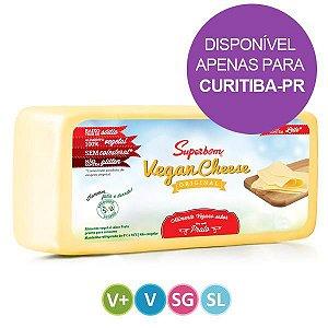 Queijo Vegano sabor Prato Superbom 2,3kg
