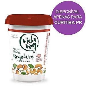 Requeijão Veg sabor Tradicional Vida Veg 180g