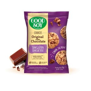 Cookies Chocolate Sem Glúten Sem Lactose 33g
