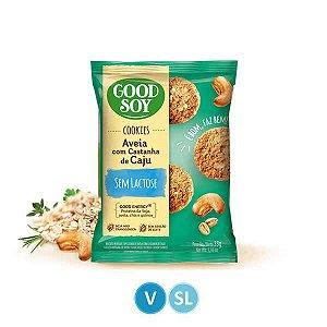 Cookies Aveia com Castanhas Sem Lactose 33g