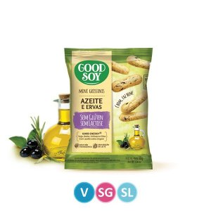 Mini Grissini Azeite e Ervas Good Soy 30g