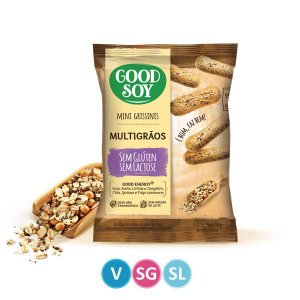 Mini Grissini Multigrãos Good Soy 30g