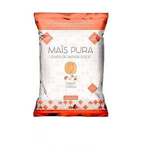 Chips de Batata Doce com Canela Mais Pura