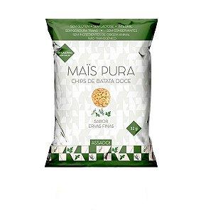 Chips de Batata Doce com Ervas Finas Mais Pura