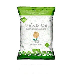 Chips de Batata Doce sabor Pesto Tropical