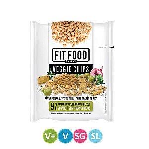 Veggie Chips Ervas Finas Fit Food