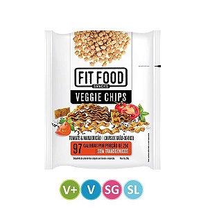 Veggie Chips Tomate & Manjericão Fit Food