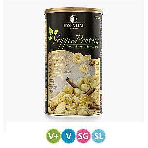 Veggie Protein Banana e Canela Essential 462g