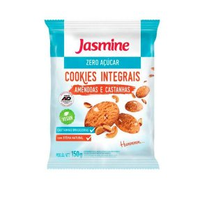 Cookies Integrais Zero Açúcar Amêndoa e Castanha