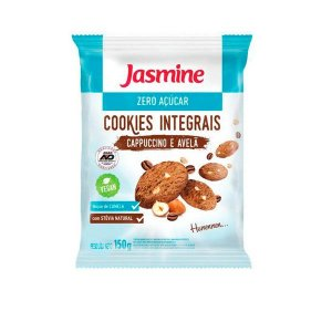 Cookies Zero Açúcar Capuccino e Avelã  Jasmine 150g