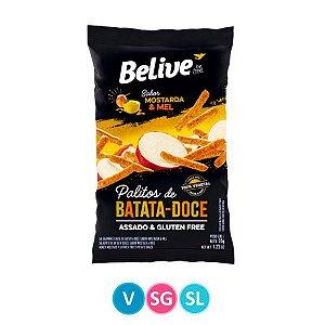 Palitos de Batata Doce sabor Mostarda & Mel