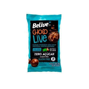Choco Live Chá Verde e Guaraná Belive