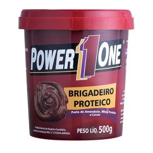 Pasta de Amendoim Brigadeiro Proteico Power1One