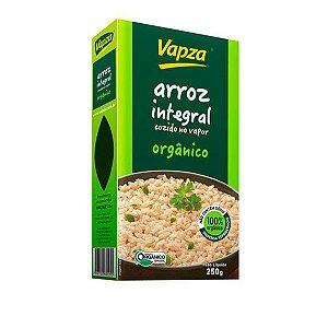 Arroz Integral Orgânico Cozido Vapza 250g