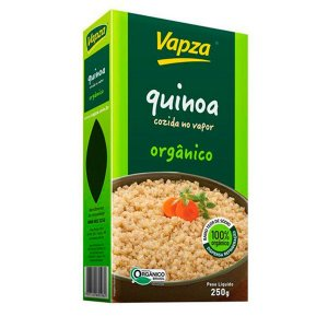 Quinoa Orgânica Cozida Vapza 250g